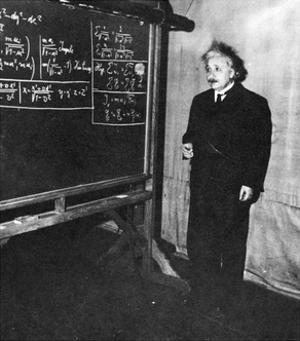 Einstein at Princeton University by Science Source