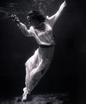 Fashion Model Underwater, 1939 by Science Source