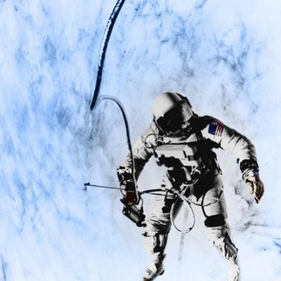 First American EVA, Gemini 4 Mission, 1965 by Science Source