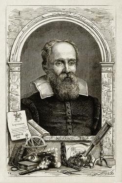 Galileo Galilei, Italian Astronomer by Science Source
