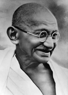Gandhi, Indian Political and Spiritual Leader by Science Source