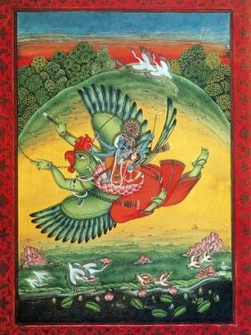 Garuda, the Vahana of Lord Vishnu by Science Source