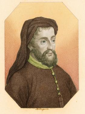 Geoffrey Chaucer, Father of English Literature by Science Source