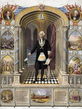 George Washington, Freemason by Science Source
