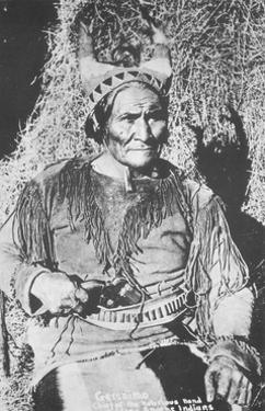Geronimo, Apache Indian War Chief by Science Source