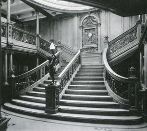 Grand Staircase of the Titanic by Science Source