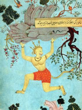 Hanuman, Hindu Monkey God by Science Source