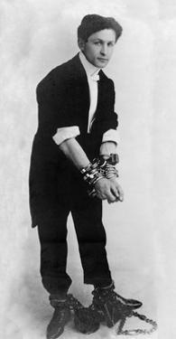 Harry Houdini, Hungarian-American Magician by Science Source