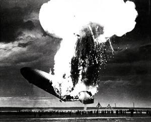 Hindenburg Disaster, May 6th, 1937 by Science Source