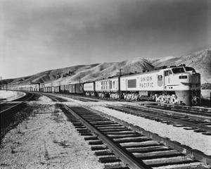 Historic Freight Train by Science Source
