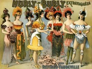 Hurly-Burly Extravaganza and Vaudeville, 1899 by Science Source