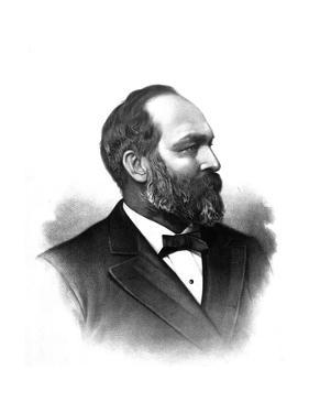 James A. Garfield, 20th U.S. President by Science Source