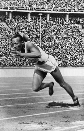 Jesse Owens, American Olympian by Science Source