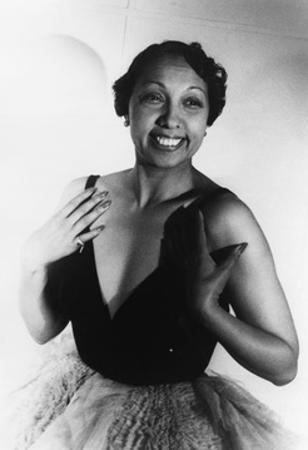 Josephine Baker, American Entertainer by Science Source