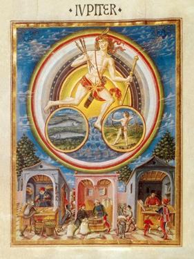 Jupiter, Roman God by Science Source