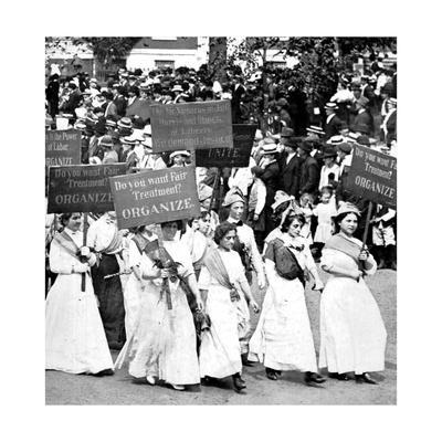 Labor Day Parade, Women's Suffrage, 1912