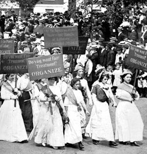Labor Day Parade, Women's Suffrage, 1912 by Science Source