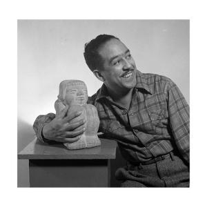 Langston Hughes, American Poet and Activist by Science Source