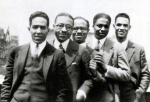 Langston Hughes and Friends, 1924 by Science Source