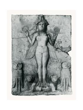 Lilith, Goddess of Death by Science Source