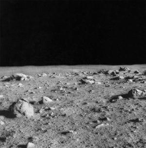 Lunar Surface, Apollo 14 Mission by Science Source