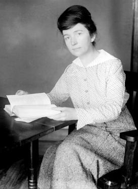 Margaret Sanger, American Social Reformer by Science Source