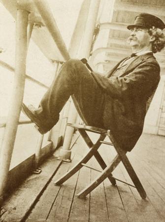 Mark Twain, American Author and Humorist