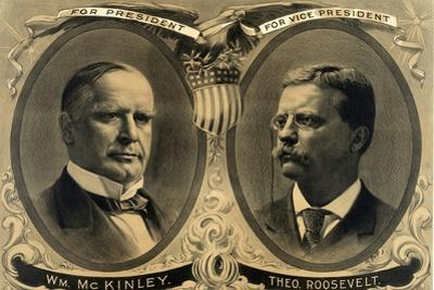 McKinley-Roosevelt Campaign Poster, 1900