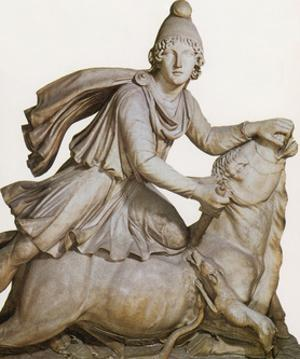 Mithras Slaying the Great Bull by Science Source
