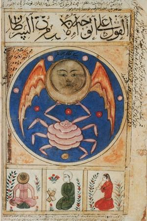 Moon in Cancer, 14th Century by Science Source