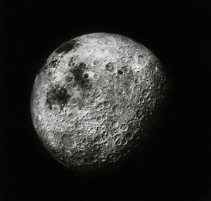Moon Seen From 1000 Miles Away, Apollo 16 Mission by Science Source