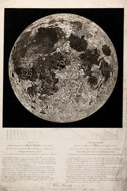 Moon Surface by John Russell, for Herschel, 1806 by Science Source