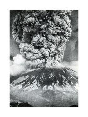 Mount St. Helens Eruption, 1980 by Science Source