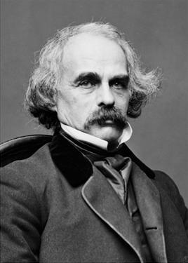 Nathaniel Hawthorne, American Author by Science Source