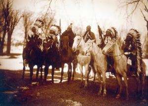 Native American Indian Tribal Leaders, 1900 by Science Source