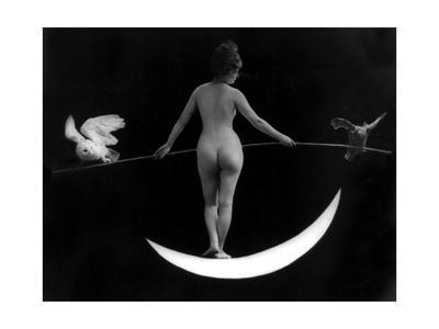 """Night"", Nude Model, 1895"