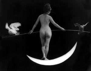 """""""Night"""", Nude Model, 1895 by Science Source"""