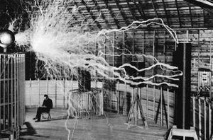 Nikola Tesla, Serbian-American Inventor by Science Source