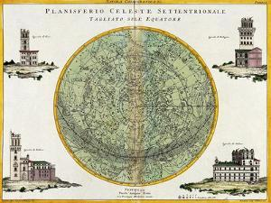 Northern Celestial Planisphere, 1777 by Science Source