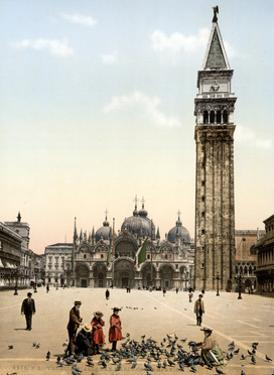 Piazza San Marco, 1890s by Science Source