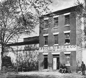 Price, Birch & Co., Dealers in Slaves, 1865 by Science Source