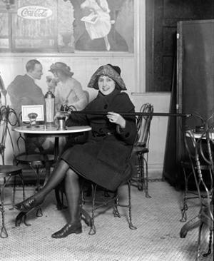 Prohibition, Flapper Flask Fashion by Science Source