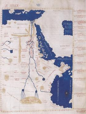 Ptolemy's Map of the Nile, 2nd Century by Science Source