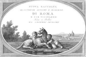 Romulus and Remus, Founders of Rome by Science Source