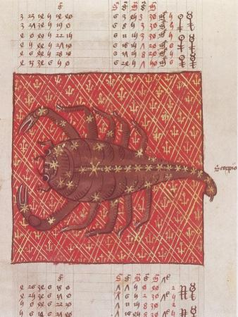 Scorpius Constellation, Zodiac Sign, Ptolemy by Science Source