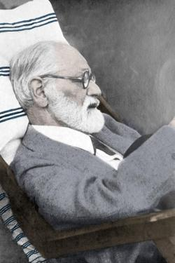 Sigmund Freud, Father of Psychoanalysis by Science Source