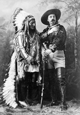 Sitting Bull and Buffalo Bill, 1885 by Science Source