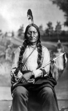Sitting Bull, Lakota Tribal Chief by Science Source