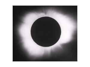 Solar Eclipse with outer Corona by Science Source