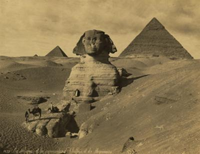 Sphinx and the Pyramids, 19th Century